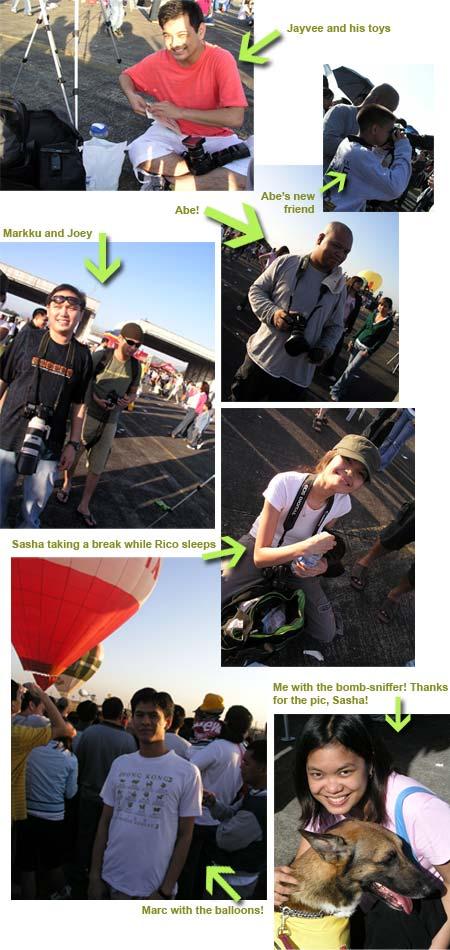 Bloggers at the 11th Hot Air Balloon Fiesta!