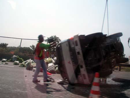 Accident at NLEX