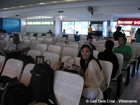 At the Cebu seaport