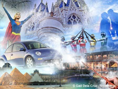 Daydream collage