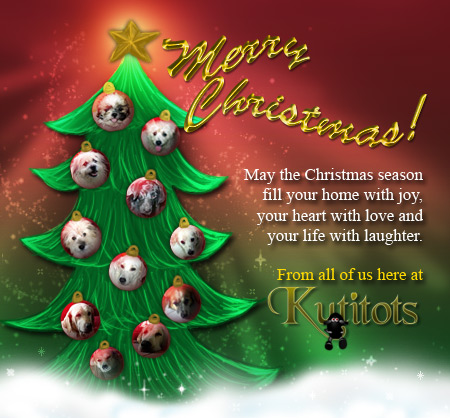 Kutitots Christmas card
