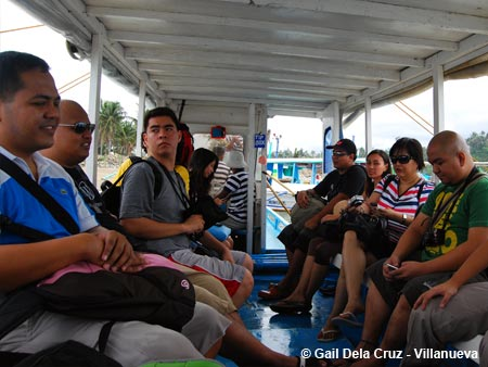 Boat ride to Boracay