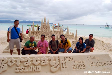 Pinoy Bloggers in Boracay