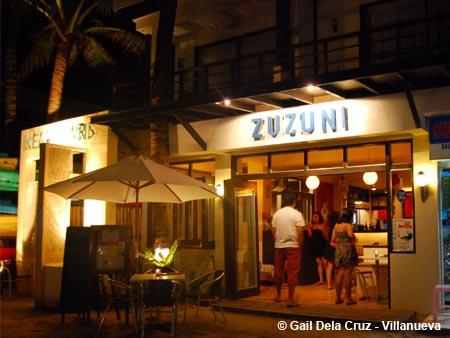 Zuzuni restaurant Boracay