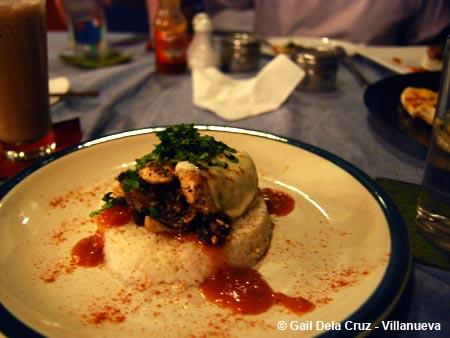 Leona's Art Restaurant, Mozzarella Chicken