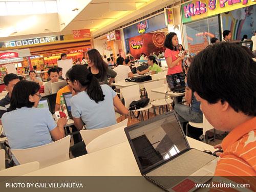 SM Marikina Wi-Fi Stress Testing